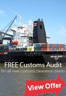 Australian customs audit offer